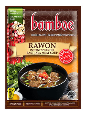 Bumbu Rawon (Spice Mix for East Java Meat Soup) - BAMBOE