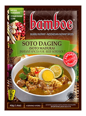 Soto Daging (Spice Mix for Beef Soto Soup) - BAMBOE