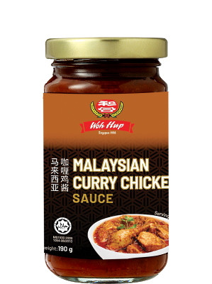 Malaysian Curry Chicken Sauce - WOH HUP
