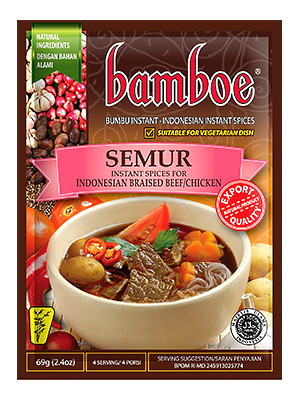 SEMUR (Instant Spices for Indonesian Braised Beef/Chicken) - BAMBOE