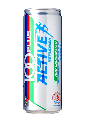 100 PLUS Non-Carbonated Isotonic Drink - ACTIVE 300ml - F&N