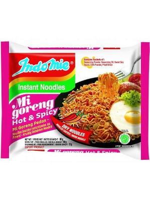Instant Noodles - Mi Goreng Pedas Flavour 40x80g - INDO MIE