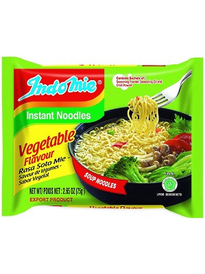 Instant Noodles - Vegetable with Lime Flavour - INDO MIE