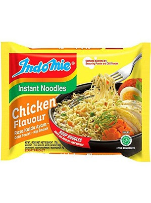 Instant Noodles - Chicken Flavour 40x70g - INDO MIE