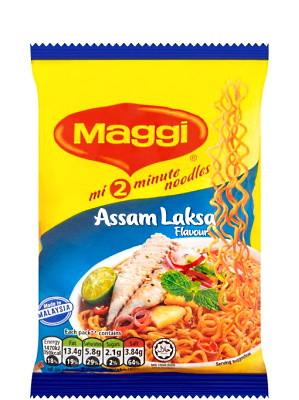 2-Minute Noodles - Assam Laksa Flavour - MAGGI
