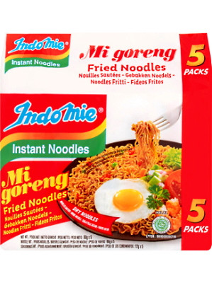 Instant Noodles - Mi Goreng Flavour MULTIPACK 5x80g - INDO MIE