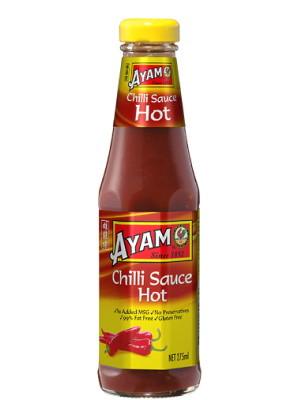 Malaysian Chilli Sauce - Hot - AYAM