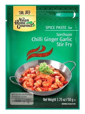 Szechuan Chilli Ginger Garlic Stir-fry Spice Paste - ASIAN HOME GOURMET