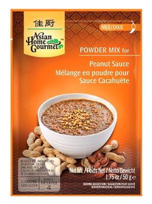 Indonesian Peanut Sauce Mix 50g - ASIAN HOME GOURMET