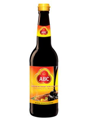 Indonesian Medium Sweet Soy Sauce (Kecap Manis Sedang) 620ml - ABC