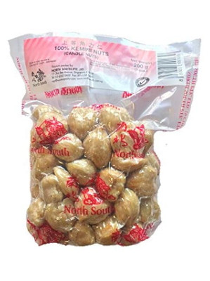Kemiri (Candle) Nuts 200g - NORTH SOUTH