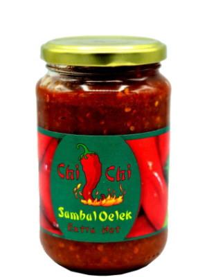Ground Fresh Chilli (Sambal Oelek) 375g - CHI CHI