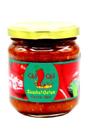 Ground Fresh Chilli Sambal Oelek 200g Chi Chi Malay