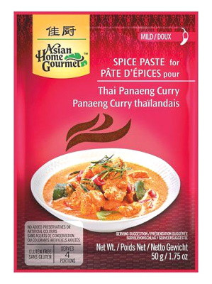Thai Panang Curry Spice Paste - ASIAN HOME GOURMET