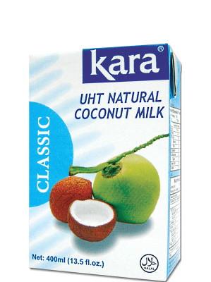 Indonesian UHT Coconut Milk 400ml - KARA