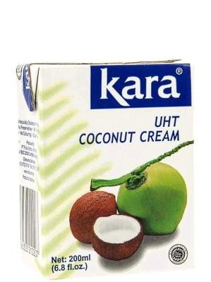 Indonesian UHT Coconut Cream 200ml - KARA