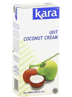 Indonesian UHT Coconut Cream 1000ml - KARA