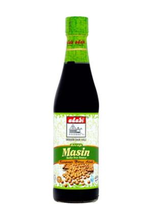 Salty Soy Sauce (Kicap Masin) 340ml - ADABI