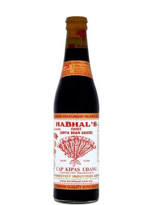 Malaysian Sweet Soy Sauce (Kicap Lemak Manis) 345ml - HABHAL'S
