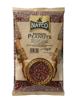 Redskin Peanut Kernals 1kg - NATCO