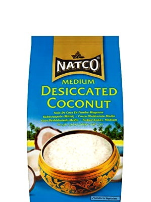Desiccated Coconut - Medium 300g - NATCO