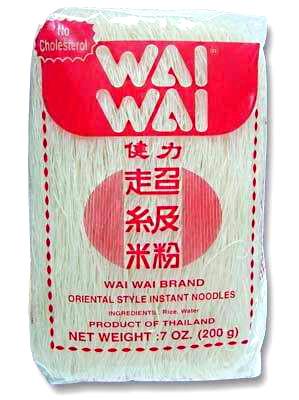 Rice Vermicelli 200g - WAI WAI