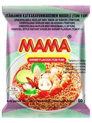 Instant Noodles – Tom Yum Flavour 30x60g – MAMA