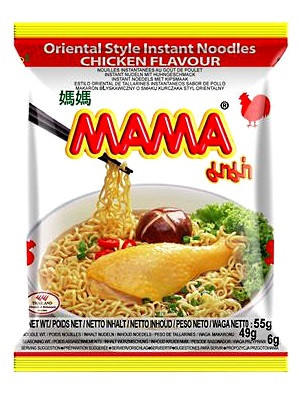 Instant Noodles - Chicken Flavour 30x55g - MAMA