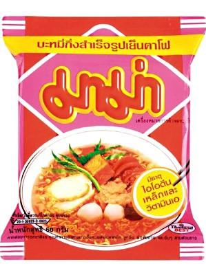 Instant Noodles - Yentafo Flavour 30x60g - MAMA