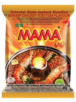Instant Noodles - Creamy Tom Yum Flavour - MAMA