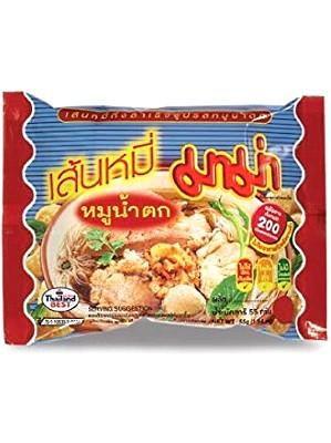 Instant Rice Vermicelli - Moo Namtok Flavour - MAMA