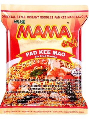 Instant Noodle - Pad Kee Mao Flavour - MAMA