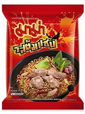 Instant Noodles - Tom Saab (Hot & Spicy) Flavour - MAMA