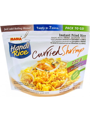 Handi-Rice Instant Rice - Curried Shrimp Flavour - MAMA