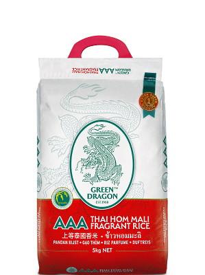 Thai Hom Mali Rice 5kg - GREEN DRAGON