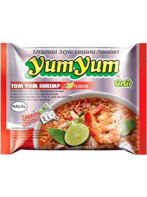 Instant Noodles - Tom Yum Shrimp Flavour 60g - YUM YUM