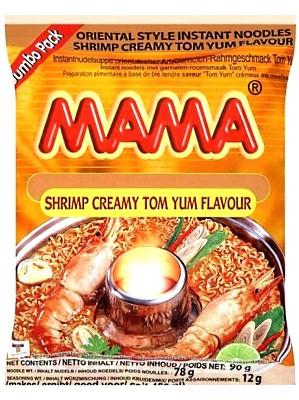 Instant Noodles - Shrimp Creamy Tom Yum Flavour (Jumbo Pack) - MAMA