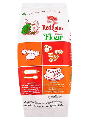 Special Flour for Salapao, Steam Cakes, etc. - RED LOTUS