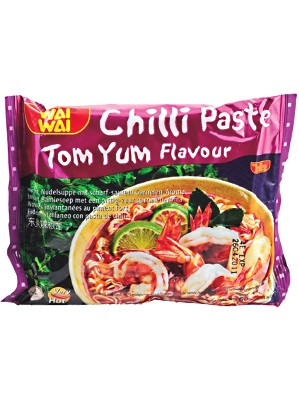 Instant Noodles - Chilli Paste Tom Yum Flavour - WAI WAI
