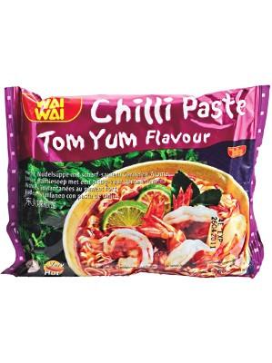 Instant Noodles - Chilli Paste Tom Yum Flavour 30x60g - WAI WAI