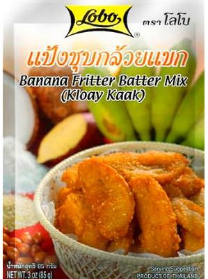 Banana Fritter Batter Mix - LOBO