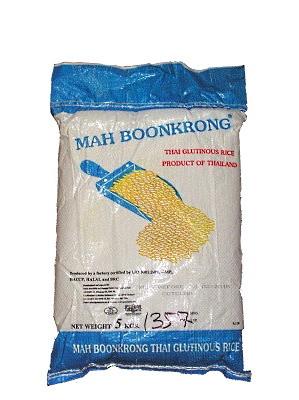 Thai Glutinous Rice 5kg - MAH BOON KRONG