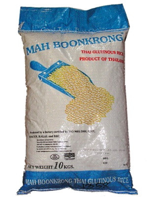 Thai Glutinous Rice 10kg - MAH BOON KRONG