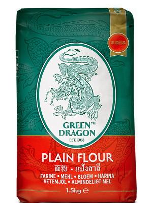 Plain Flour 1.5kg - GREEN DRAGON