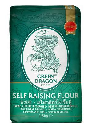 Self-Raising Flour 1.5kg - GREEN DRAGON