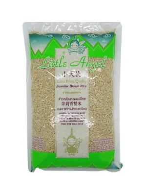 Thai Brown Jasmine Rice 1kg - LITTLE ANGEL