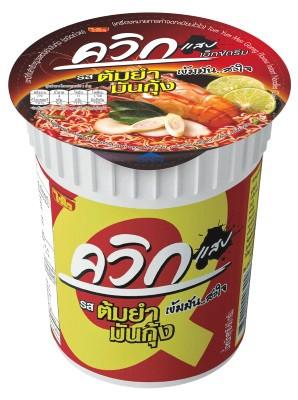 QUICK Cup Noodles - Tom Yum Mun Goong Flavour - WAI WAI