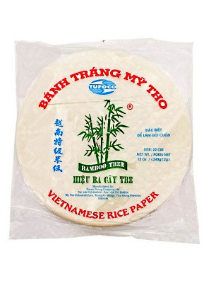 Vietnamese Rice Paper 22cm - BAMBOO TREE