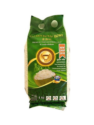 Premium Thai Glutinous Rice 1kg - ROYAL GOLDEN BOWL