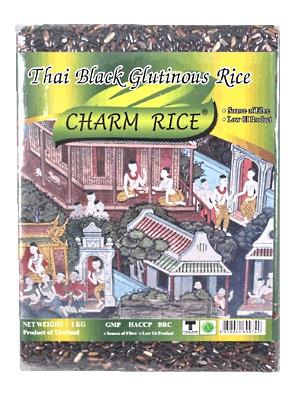 Thai Black Glutinous Rice 1kg – CHARM